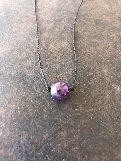 Amethyst Choker Necklace