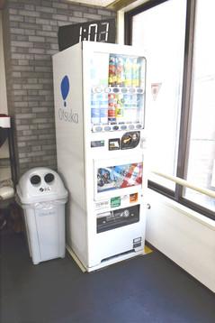 キックボクシングジム自動販売機