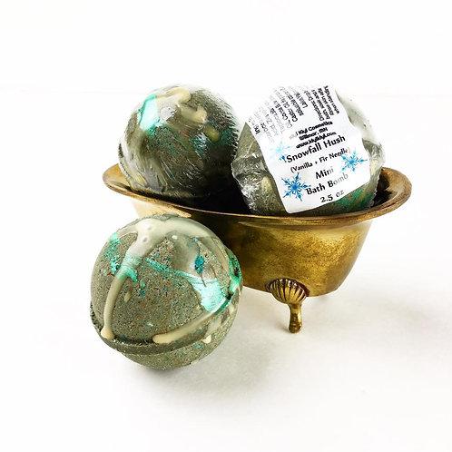 Snowfall Hush- Mini Bath Bomb