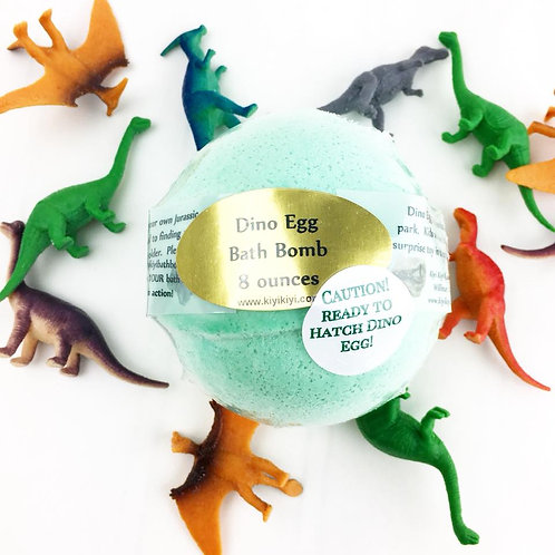 Dino Egg - Large Toy Bath Bomb