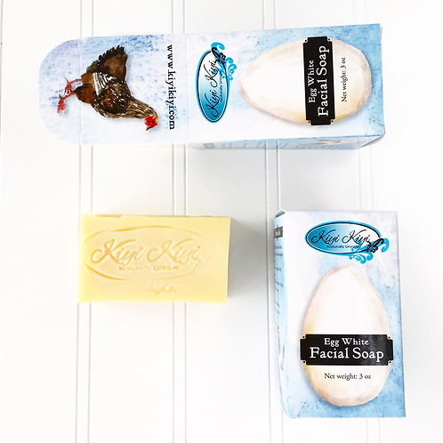 Egg White -  Facial Soap