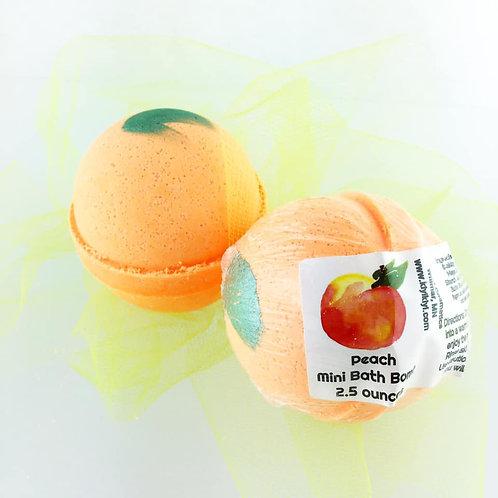 Peach - Mini Bath Bomb