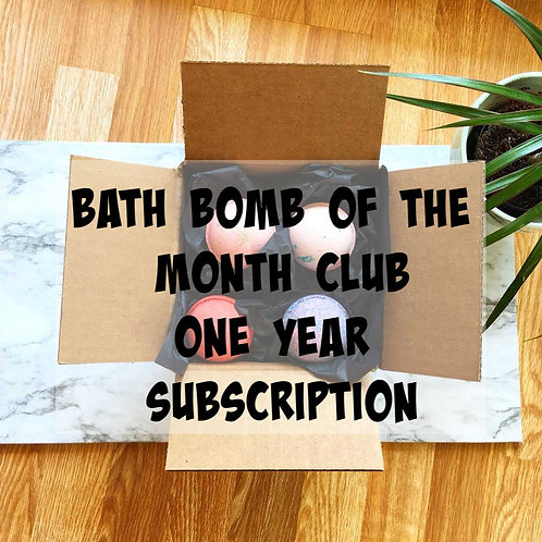Bath Bomb of the Month Club - 12 Months