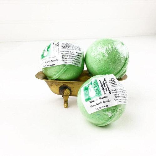 Winter Buster - Mini Bath Bomb