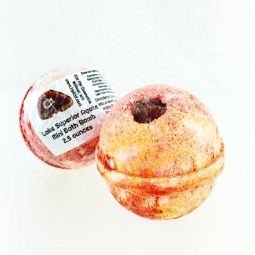 Lake Superior Agate - Mini Bath Bomb