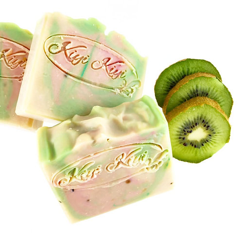 Strawberry and Kiwi - Vegan Soap