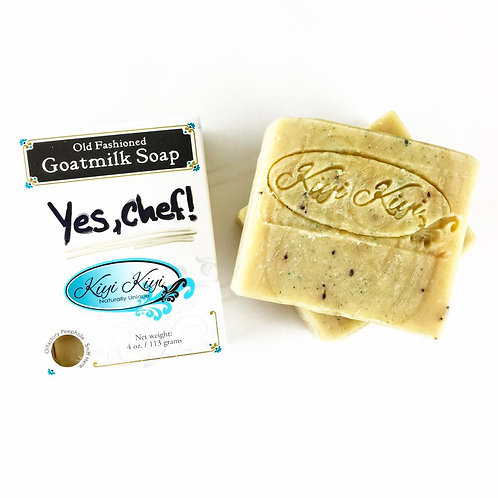 Yes, Chef! - Goatmilk Soap
