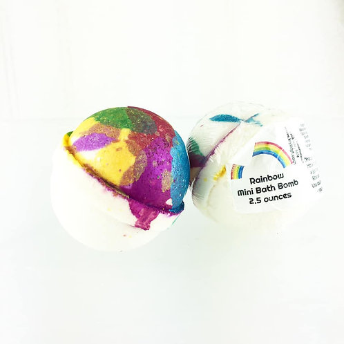 Rainbow - Mini Bath Bomb