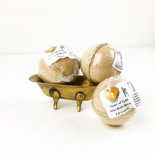 Heart of Gold - Mini Bath Bomb