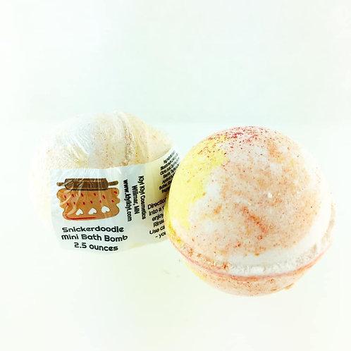 Snickerdoodle - Mini Bath Bomb