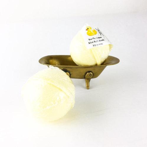 Vanilla Cream - Mini Bath Bomb