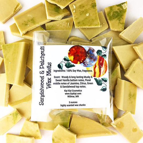 Sandalwood and Patchouli - Wax Melts