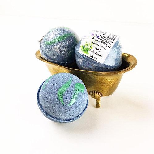 Forest Whisper- Mini Bath Bomb