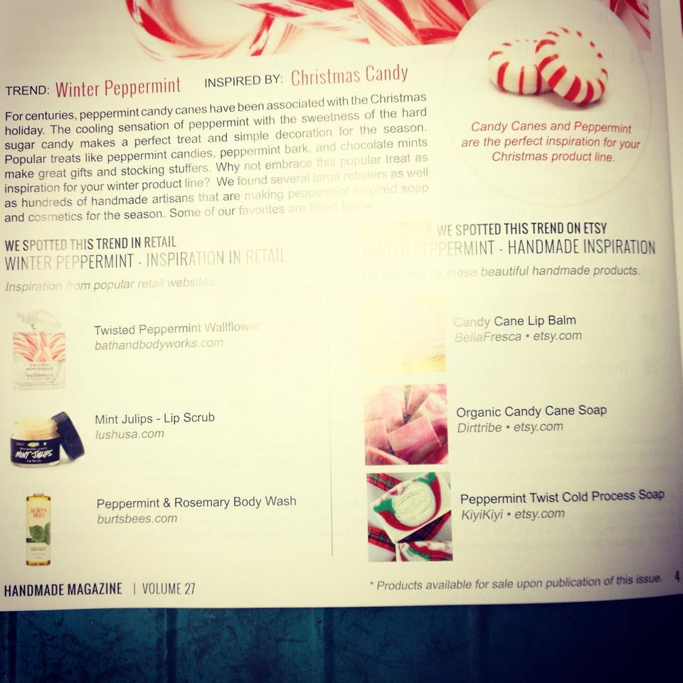 Kiyi Kiyi in Handmade Magazine
