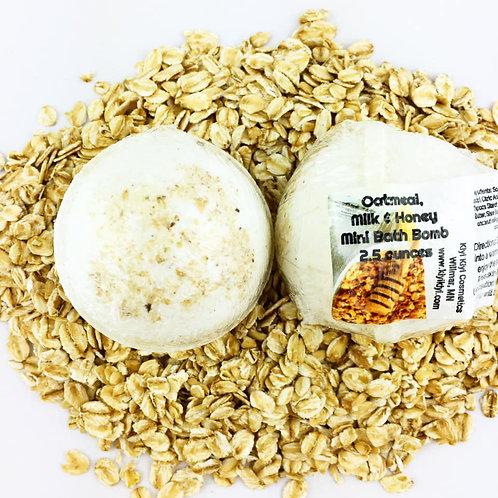 Oatmeal Milk Honey - Mini Bath Bomb