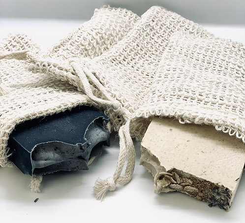 Biodegradable Soap Exfoliating Bag