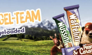 "SPONSORED VIDEO | MILKA ""RIEGEL-TEAM #RIEGELOADED"""