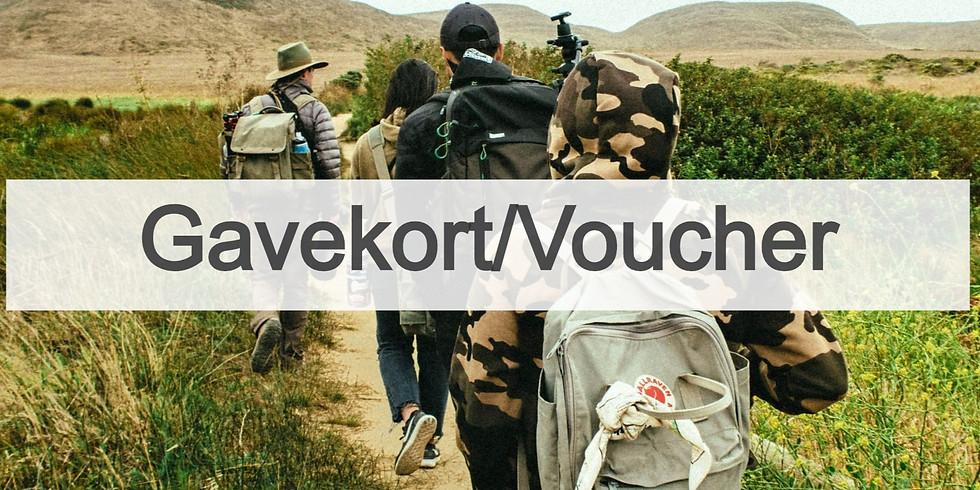 Gavekort: Walk The Coast (1)