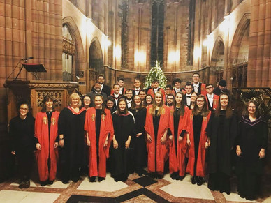 University of Glasgow Chapel Choir in Crichton Church, Dumfries (2017)