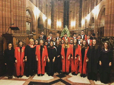 University of Glasgow Chapel Choir in Crichton Church, Dumfries (2017)