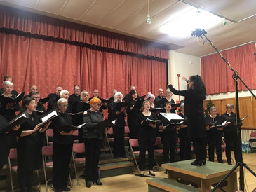 Cunninghame Choir Winter Concert 'A Folk Christmas' at Beith Community Centre (2017)