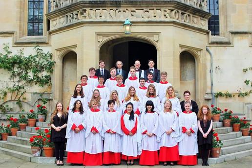 Oriel College Chapel Choir (2014)