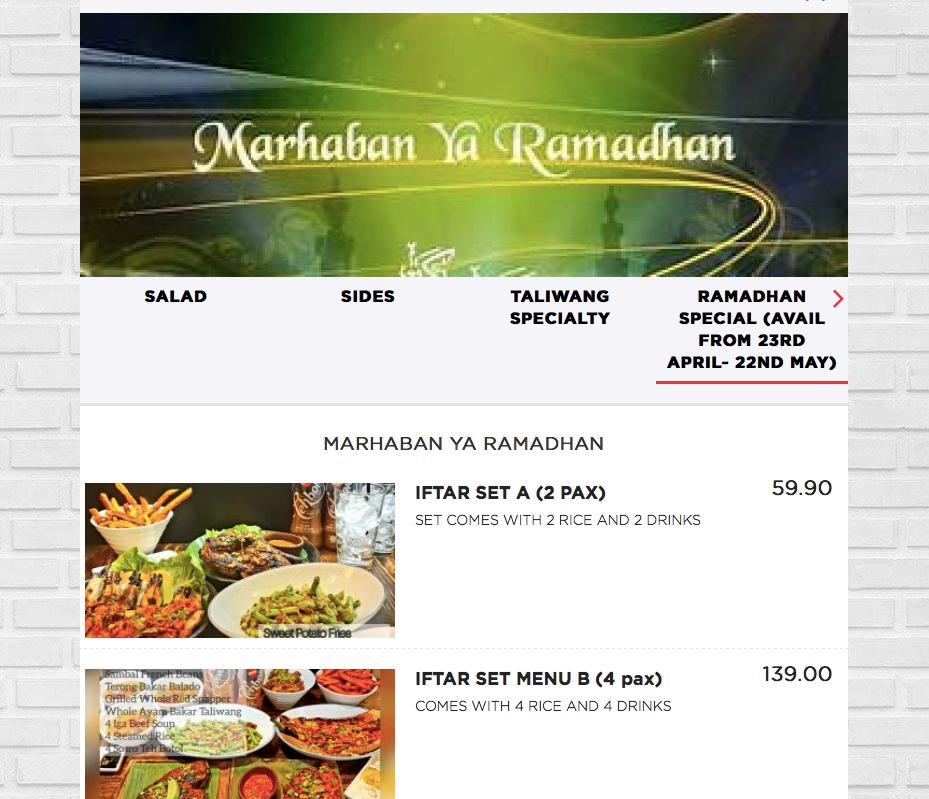 Taliwang Restaurant