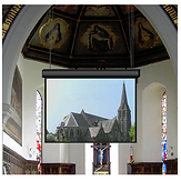 church projectors screens and TVs from Clockwork AV
