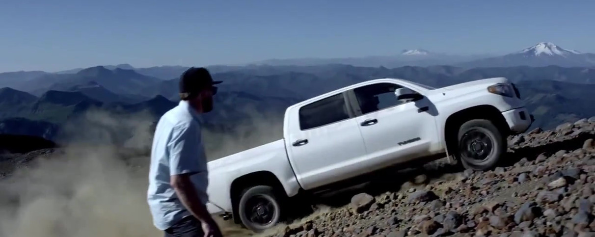 Locations for Toyota TRD - Pro Producer Company Tantor Films Chile.