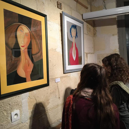 Photos du vernissage Ni Muse Ni Soumise