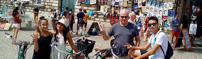 avignon bike tour south spirit