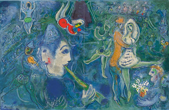 Marc Chagall - Untitled From The Circus