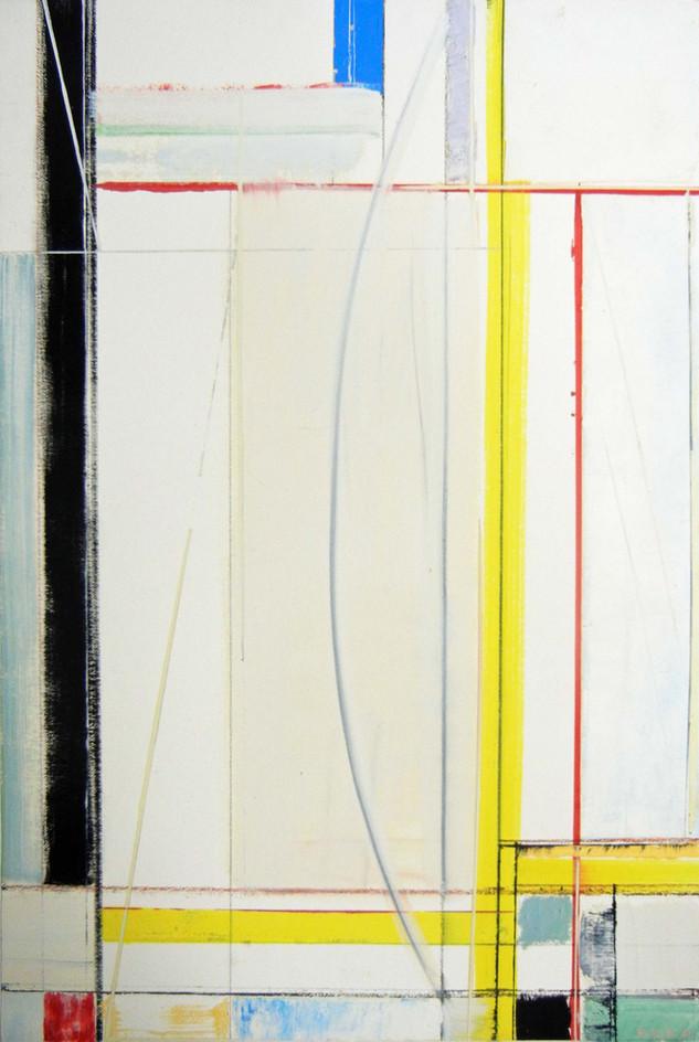 Close up of Richard Roblin's Artwork