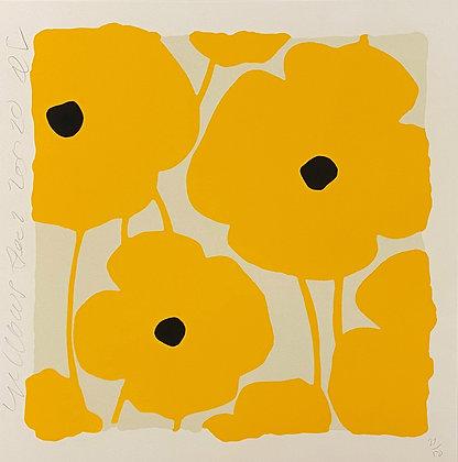 Donald Sultan - Yellows, Dec 2, 2020