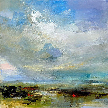 Kathy Buist - Beach Clouds