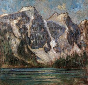 Lake Moraine, les rocheuses