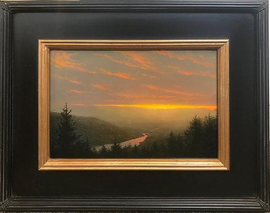 Ken Salaz - Soft Sunset over the Hudson