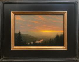 Soft Sunset over the Hudson