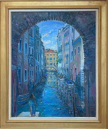 Sotoportegho by San Giacomo, Venice