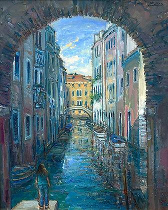 Bruno Zupan - Sotoportego by San Giacomo, Venice