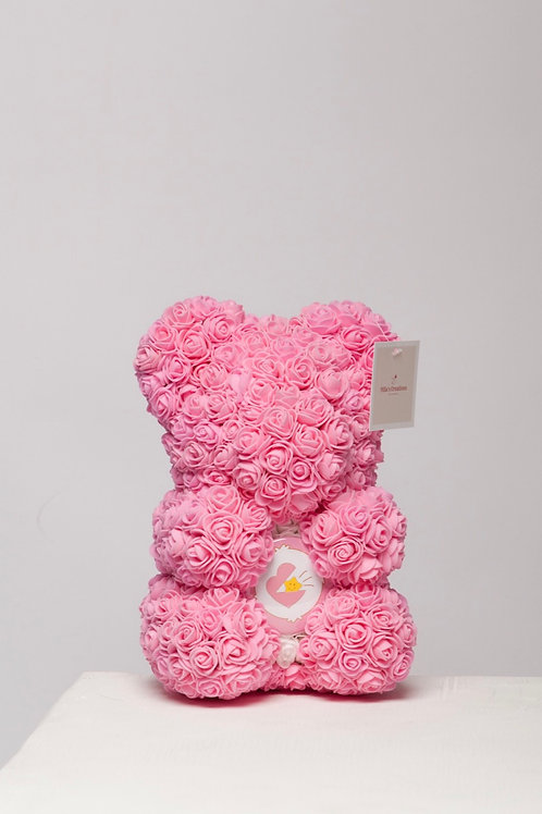 """Pink With Heart  """"Name A Bear """""""