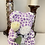 Thumbnail: Two Tone Rose Bear With White Rose