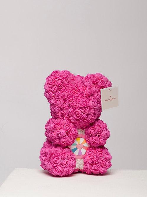 """Adorable Magenta """"Name A Bear"""""""