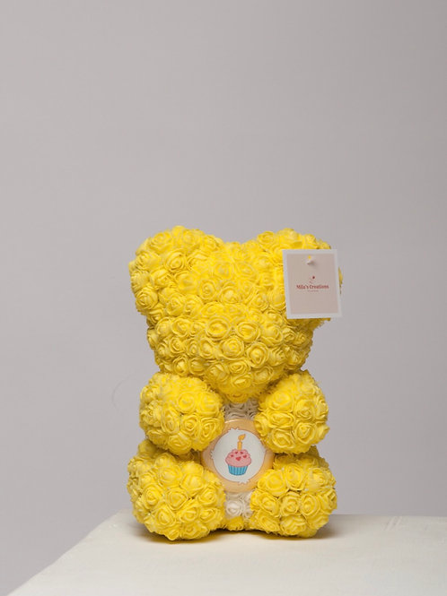 "Birthday Yellow ""Name A Bear"""