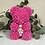 """Thumbnail: Adorable Magenta """"Name A Bear"""""""