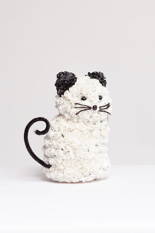 Cute Mini White Kitty