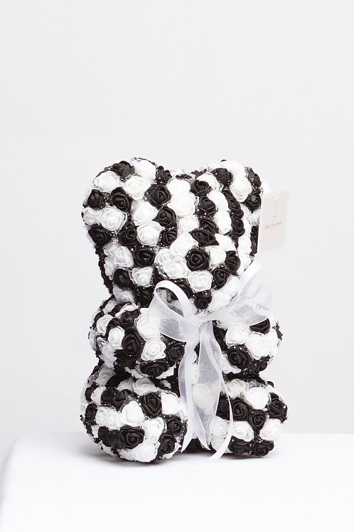 Combination Of Black & Whites Colors Bear