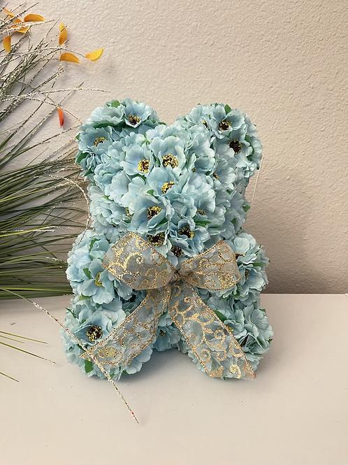 Tiffany Blue Poppy Bear