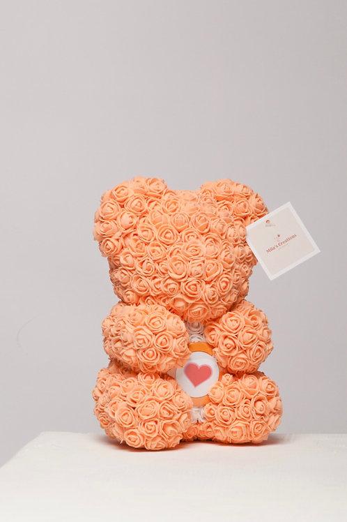 "Orange With Heart ""Name A Bear"""