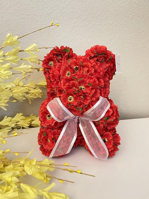 Red Poppy Bear